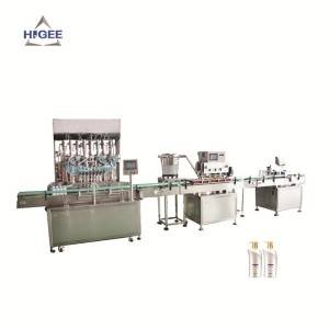 Automatic Shampoo Filling Machine Line