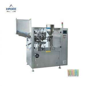 Full Automatic Tube Facial Cream Filling Sealing Machine