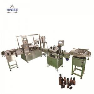 Essential oil filling machine line