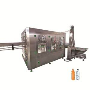 Energy drink filling machine