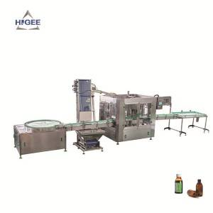 High Capacity Syrup Filling Machine Line