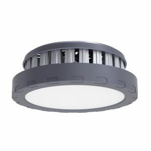 Die Casting Aluminum UFO High Bay Light 100w 120Lm/w IP44 Warehouse Light Hoisting Installation