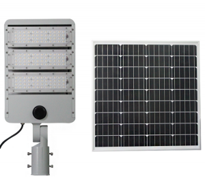 Solar Street Light LED Seperated Type 120w Light Control Rechargeable Solar Lighting For Farm Ranch Lighting