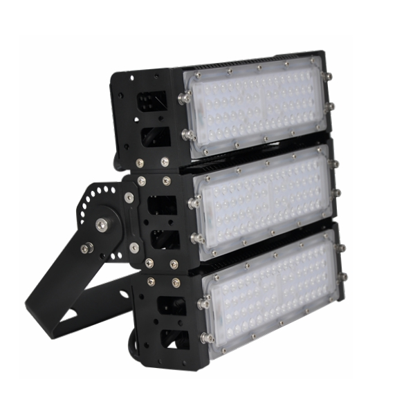 High Output Led Flood Lights 150w Freely Assembled Modular Design Floodlight 50000 hours Featured Image