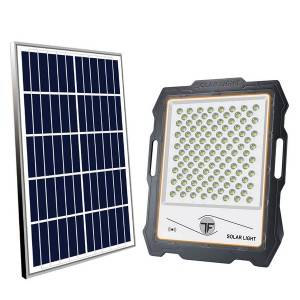 Solar Motion Sensor Flood Light Mono Solar Panel 5V/28W Portable Rechargeable 24 Ah Emergency Lighting