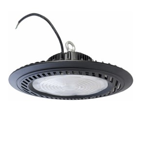 Round LED High Bay Fixtures 100w DOB UFO High Bay Light For Warehouse Factory Lighting