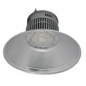 IP44 100 watt Round Led High Bay Non Dimmable Warehouse Lighting Fixture 3 Years Warranty