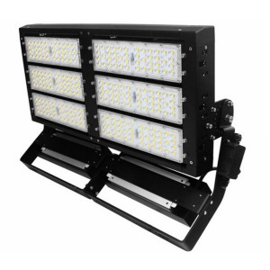 High Lumen 600w LED Stadium Floodlights For Football Field / Sport Fields Meanwell Driver