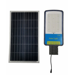 Solar Street Light Outdoor 35 Ah Battery Poly Solar Panel Solar Light 6 Hours Chargting Fence Pathway lighting