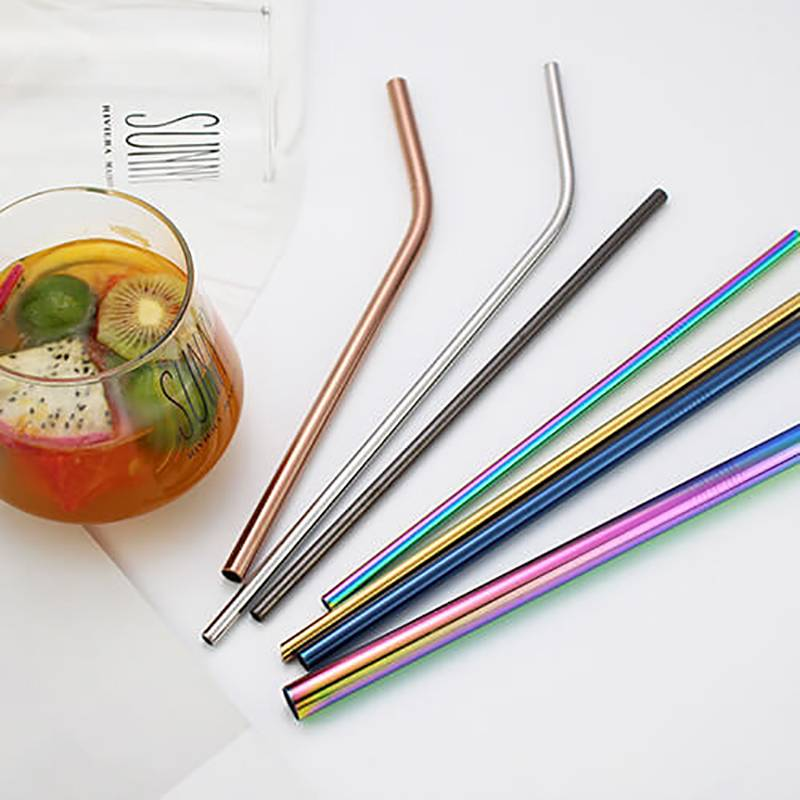 HH-0006 Food Grade Stainless Steel Straws