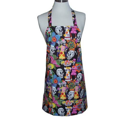 AC-0046 Personalized full length polyester aprons from 100pcs