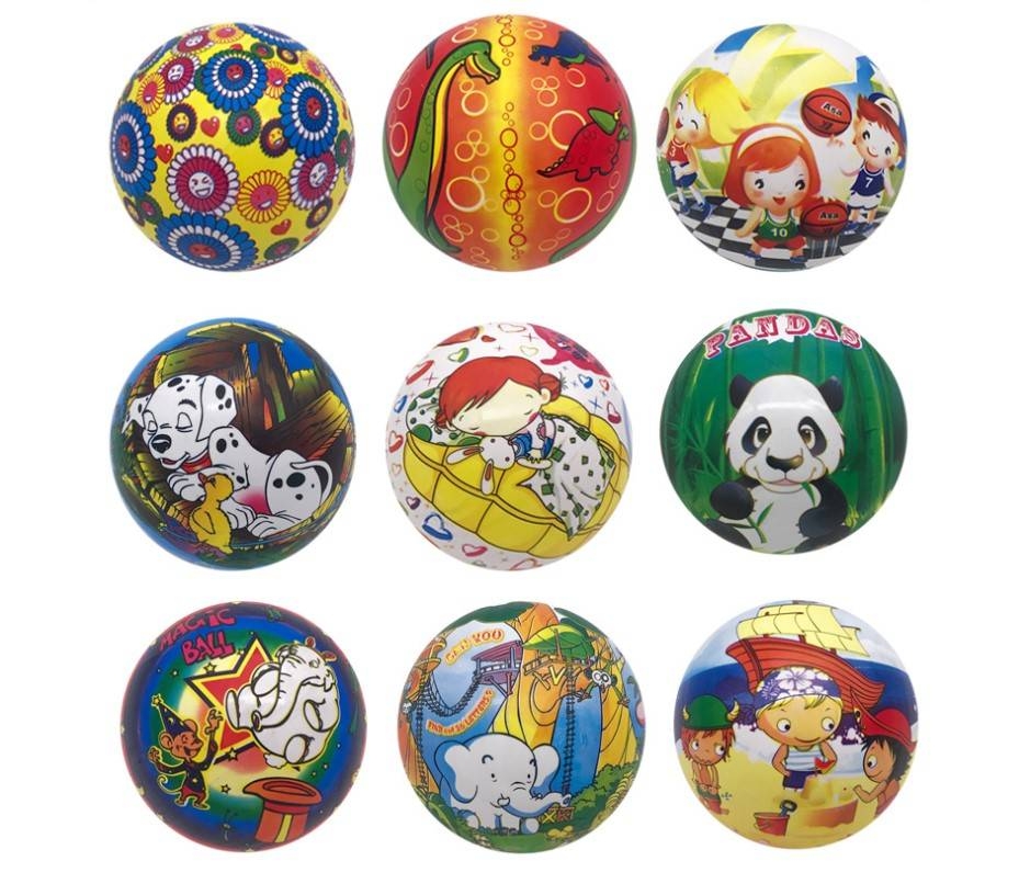 TN-0045 Promotional Inflatable PVC Balls For Kids