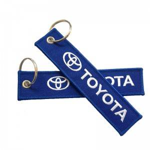 HH-0249 Customized Logo Polyester Keychain