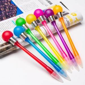 OS-0129 Custom Led Flashing Bulb Pen