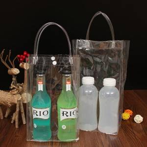 BT-0130 Custom PVC Wine Bag