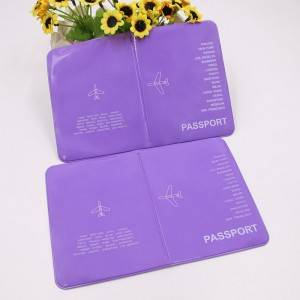 BT-0122 Custom PVC Passport Wallets