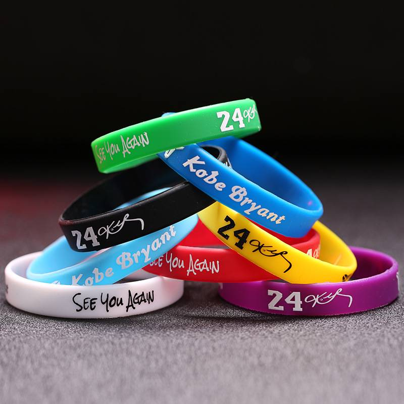 HP-0026 Custom Silicone Wristband With Logo