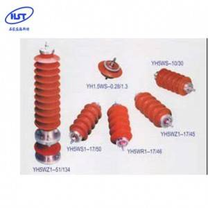 Factory supplied Pole Arrester - Earthing System Silicone Rubber Surge Arrester – Histe