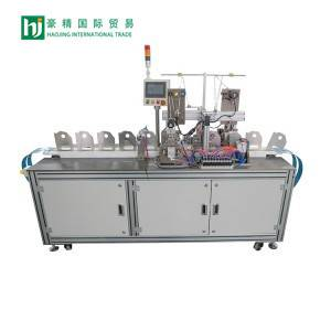 Automatic ear band welding machine