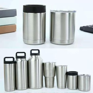 Factory Free sample 4 In 1 Can Cooler - Stainless steel 304 inside and outside  – Huijioing