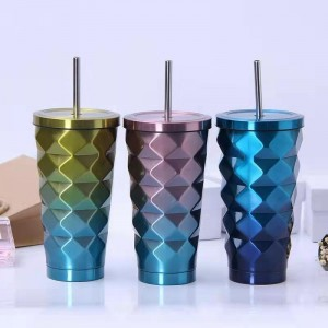 Low price for Double Walled Tumbler Glass - stainless steel sippy cup – Huijioing