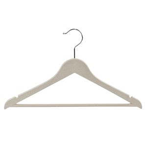 Eco Friendly Plastic Wheat Straw Hangers for Cl...