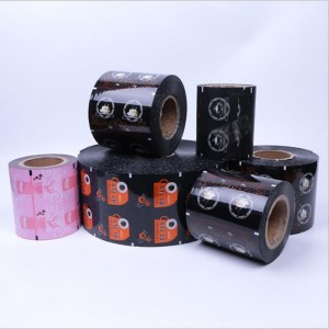 Custom Printed Plastic Film Rolls Printing for Auto packing