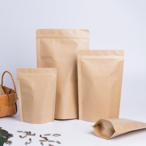 100% Original Factory Plastic Bag - Kraft Paper Stand Up Pouch – Hong Bang