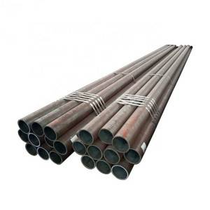 High definition 4130 Alloy Tube Manufacturers - Boiler alloy pipe alloy steel seamless pipe stock – Hongyi