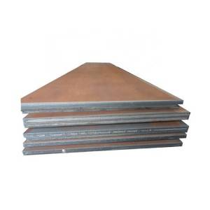 High Quality Sheet Plate - Hot rolled metal building material carbon black steel plate price list – Hongyi