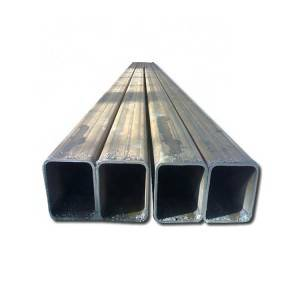 Hot sale Square And Rectangular Pipes - Rectangular tube package rectangular steel tubing price list – Hongyi