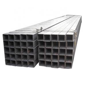 Factory directly price 30mm ss square steel pipe seamless tube 100×100