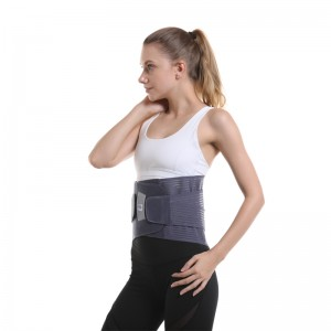Lose Weight Sweat Waist Trimmer Belt Back Brace D22