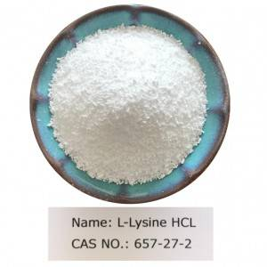 L-Lysine HCL CAS NO 657-27-2 for Food Grade (FCC/AJI/USP)