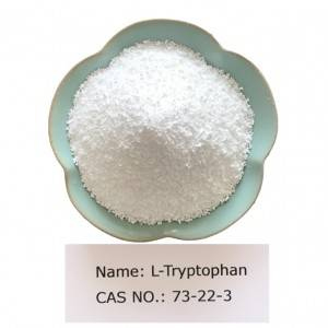 L-Tryptophan CAS NO 73-22-3 for Pharma Grade (USP)