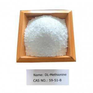 DL-Methionine CAS 59-51-8 for Feed Grade
