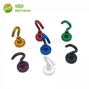 Coloured Hook Magnets