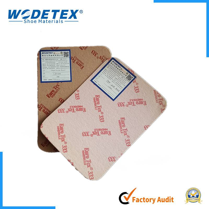 Good toughness paper insole board hot selling various qualities