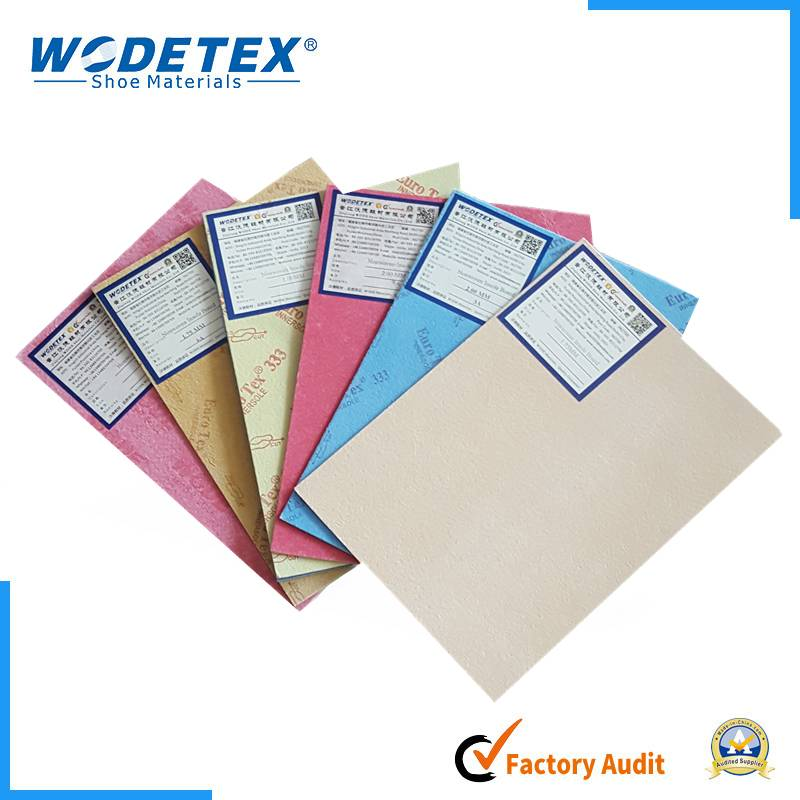 Experienced Shoe Supplier Good Adhesive Property Hygienic Fiberr Nonwoven Insole Cellulose Board