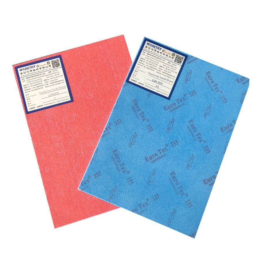 Any color available poleyster nonwoven insole board