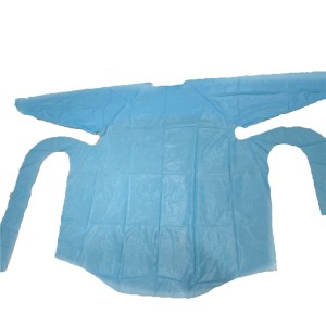 Well-designed Pes Thermal Fusion Film For Heat Bond - Disposable CPE apron – HH