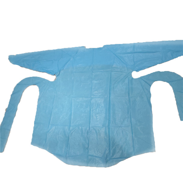 Big Discount Pa Hot Melt Mesh Film - Disposable CPE apron – HH