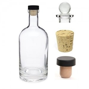 [Copy] 375 ml Nordic Glass Bottle Decanter