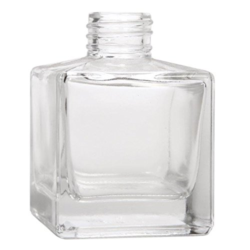 Best Price for Round Perfume Bottle - Popular 100ml Clear Square Glass Diffuser Bottle with Screw Neck –  Hoyer
