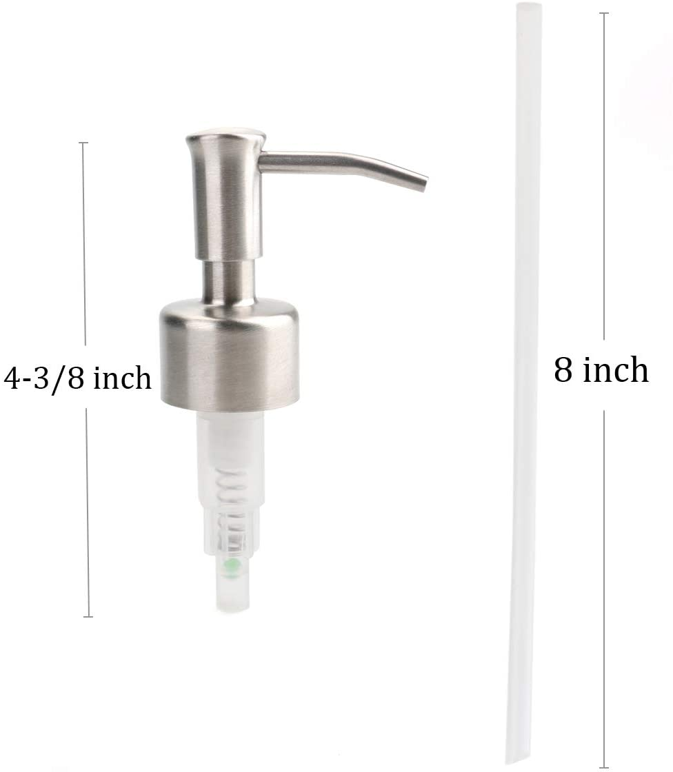 OEM/ODM China Reed Stick - 28/400 Stainless Steel Lotion Pump Soap Pump –  Hoyer detail pictures