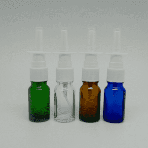 10ml Glass Essential Oil Bottle with Plastic Cap