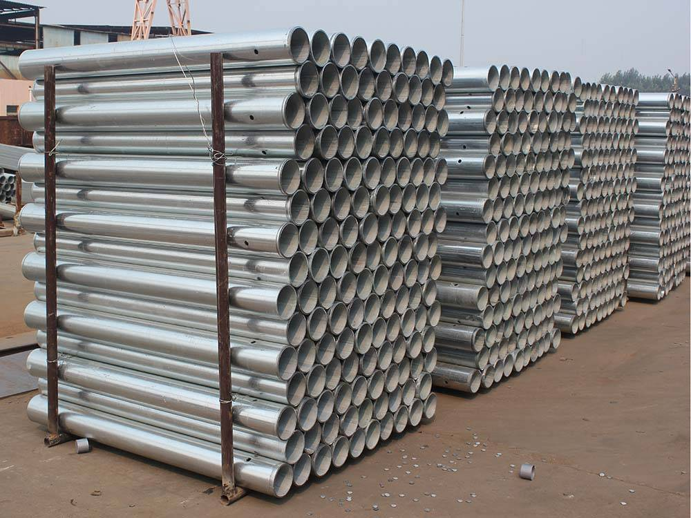 Factory Supply Steel Posts – Round shape post – Huiquan