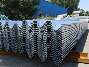 Factory supplied Road Safety Crowd Control Barrier - W beam guardrail – Huiquan