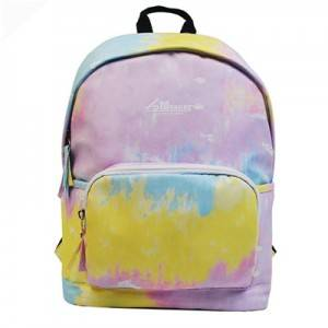 China OEM Travel Backpack Military - Colorful Chinese school bag kids bag for gril  – Monkking