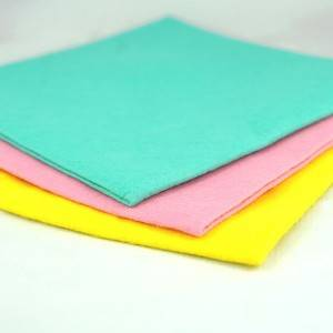 Good User Reputation for Soft Felt - Kitchen Cleaning Felt Cloths – Huasheng